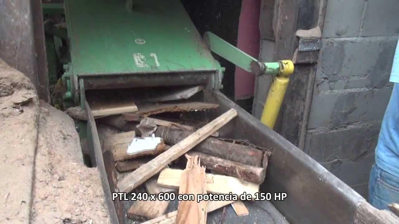 Reciclaje de madera con la chipeadora ptl 240 x 600 para - Reciclaje de la madera ...