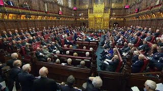 British government stumbles to third Lords defeat in less than a week