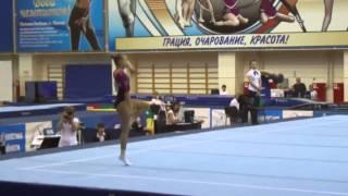 Daria Spiridonova FX 2014 D-Score (2013-2016 CoP)