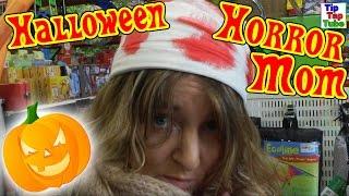HALLOWEEN HORROR MOM Last Minute Shopping - alles ausverkauft !? Vlog TipTapTube