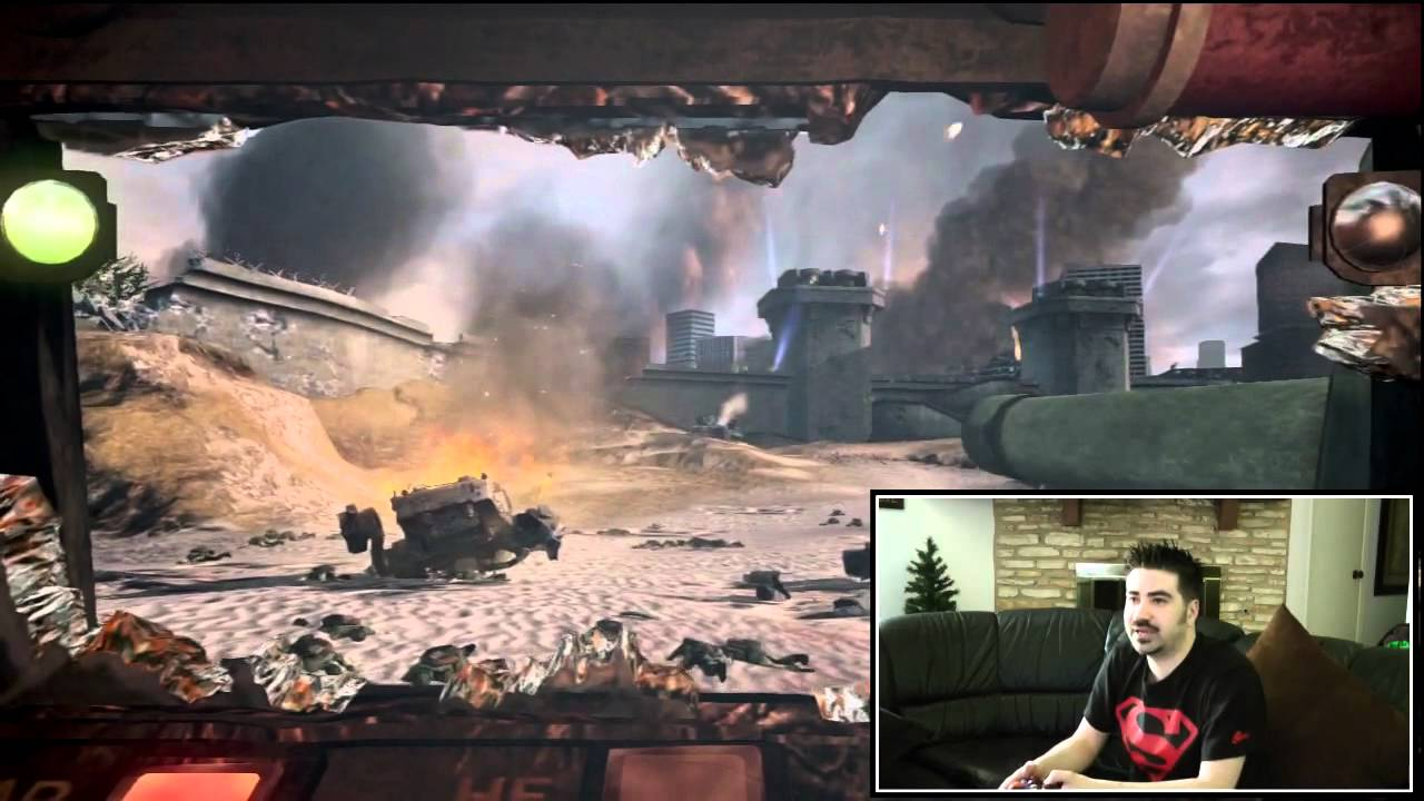 Angryjoe Plays Steel Battalion Kinect Youtube