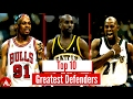 Top 10 NBA Defenders of All Time