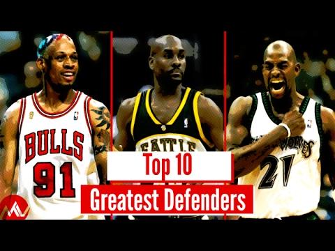 Top 10 NBA Defenders of All Time (Viewer Vote!)
