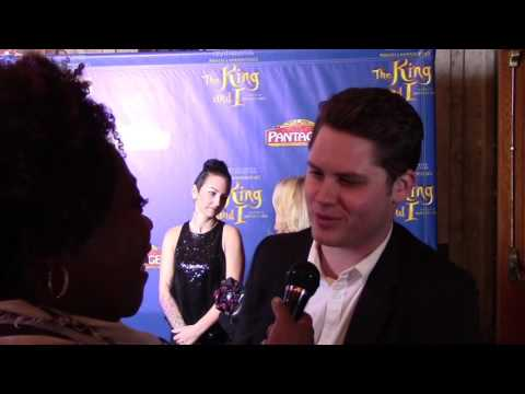 Matt Shively talks the King & I at the Pantages and the Real O'Neals