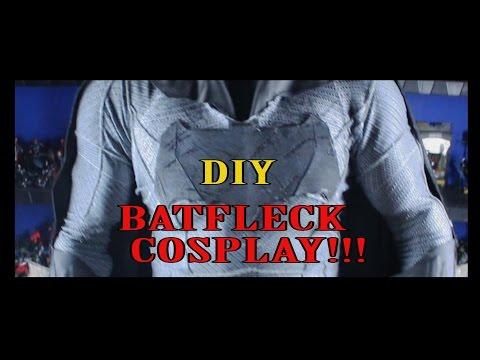DIY Dawn of Justice Batman Cosplay Full Reveal