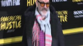 The New York premiere of American Hustle at the Ziegfeld Theater got off to a rocki