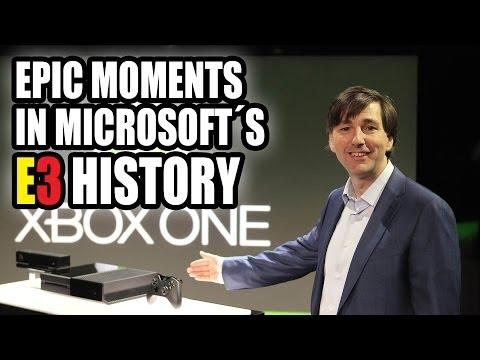 Epic Moments in Microsoft's E3 History (2000-2013)