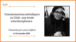Conférence - Contaminations métalliques au Chili : une étude interdisciplinaire
