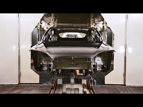 CAR FACTORY: Tesla Model S