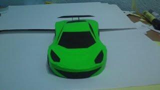 Simple PaperCraft Car