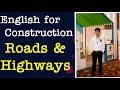 English For Construction II Roads And Highways Unit 2 Parts Of A Road mp3