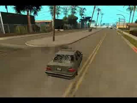 Gta  Car Crash Mod