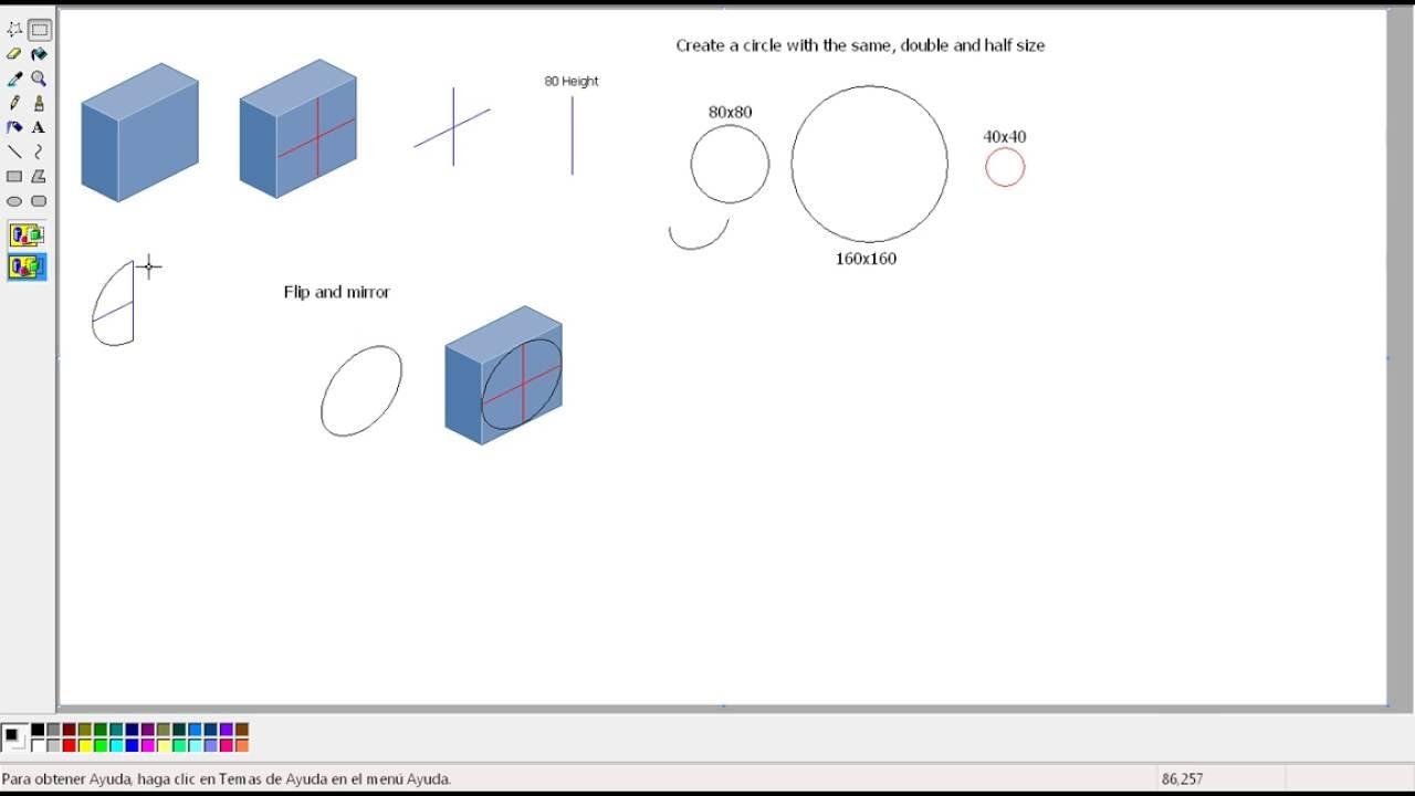 Pixel Art Perspective Drawing