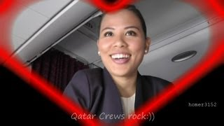 Inside Qatar Airways First Class:  Five Stars in the Gulf - the Rocky Rough Version for Mobiles