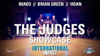 Brian Green, Hoan & Niako // Judges Showcase // International Impact AllStyle Battle 2017