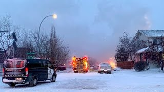 Explosion destroys house in southeast Calgary