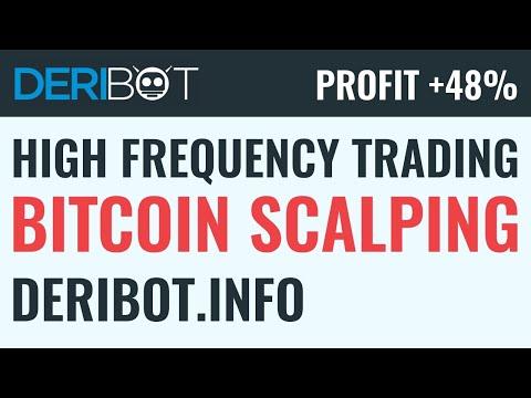 🎯 24/7 Live Bitcoin Trading. Algo Crypto Trading Robot DeriBot Trade BTC On Deribit Live