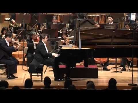 Rachmaninov- Piano Concerto No. 2 (4_6) 2nd Mov. Part 2 Alexei Volodin, piano/Semyon Bychkov