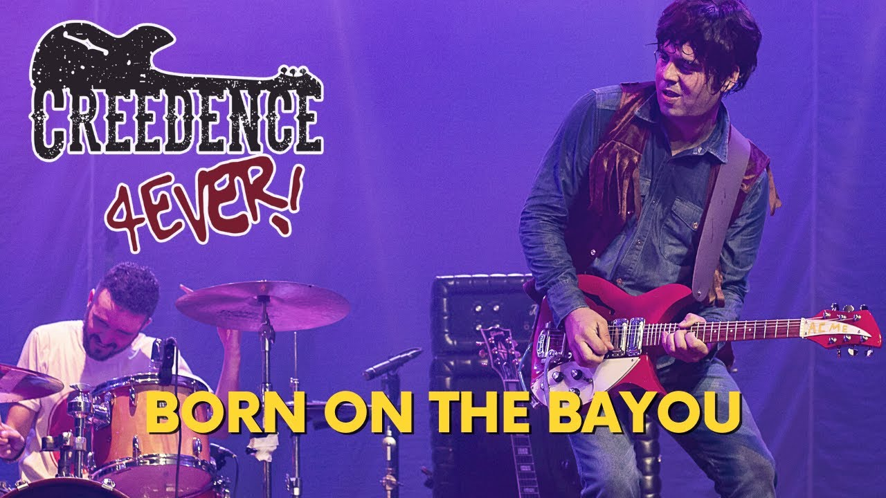 Creedence 4Ever - Born on the bayou (Live at Woodstock version) - The ultimate tribute