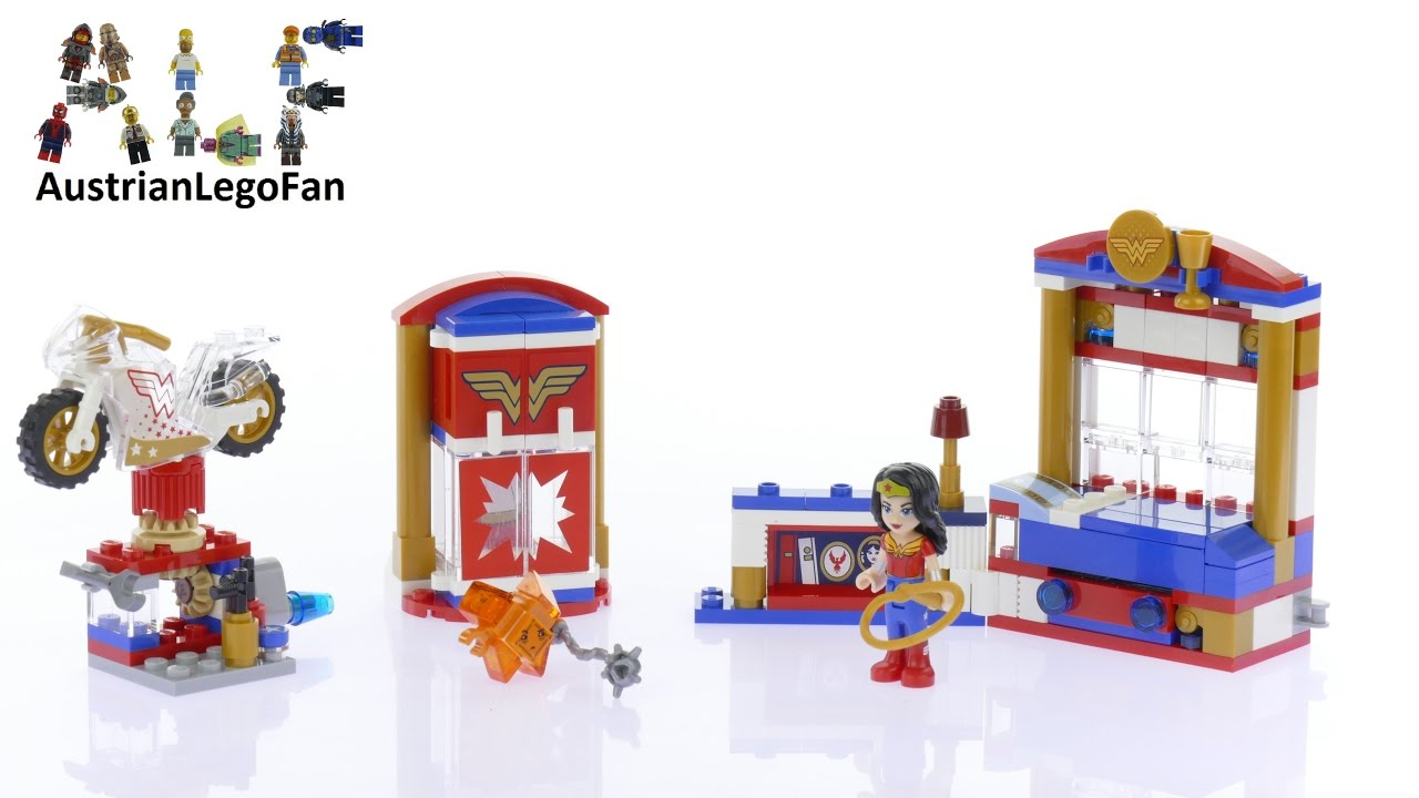 Lego DC Super Hero Girls 41235 Wonder Woman™ Dorm - Lego ...