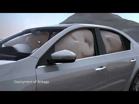 Safety & Protection technology in modern Cars - VFX Animation