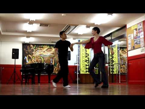 MUSE★Latin Academy   Yasuji + Mina [Demonstration] キューバン・ダンス・クラス