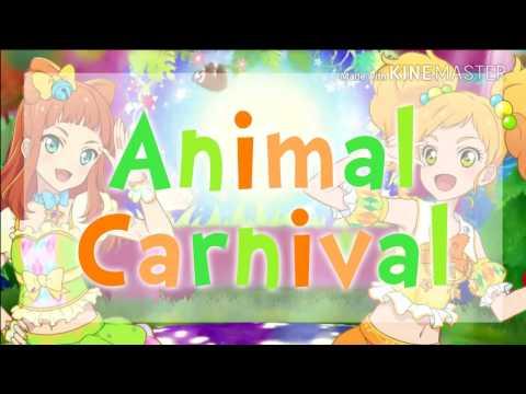 [FULL+LYRICS] Aikatsu Stars! - Yuzu & Ako - Animal Carnival