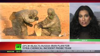 OPCW rejects Russia-Iran plan for Syria chem incident probe team