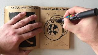 How to Draw a Duncan Wheels Yo-Yo