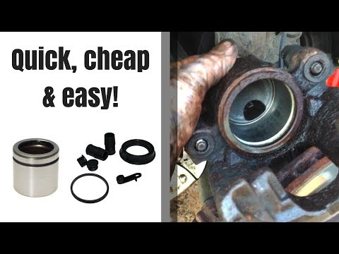How to Rebuild a Brake Caliper (WITHOUT Removing it From Your Car!)