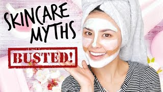 The 10 Most Common Skincare Myths...BUSTED!