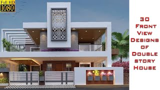 Top 30 Front Elevation Designs For Double Floor Houses