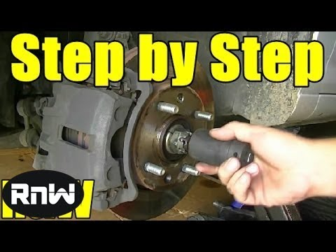 How to Replace a CV Axle
