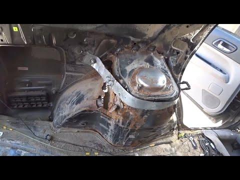 #120 [Subaru FORESTER] Ремонт ржавого кузова Body Repair