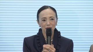 Yoko Morishita at Press Conference, 2012 Laureate【Official Video】
