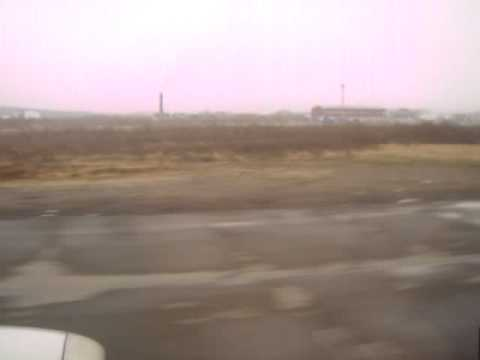 Взлет из Мурманска
