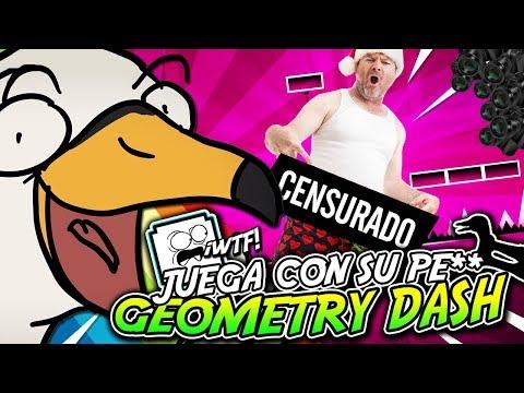 ¡¡ESTE JUGADOR FUE DEMASIADO LEJOS CON GEOMETRY DASH!!