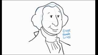 How to Draw George Washington for Presidents Day