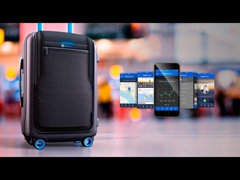 Умный чемодан The Bluesmart | Обзор, характеристики, функции, купить, цена