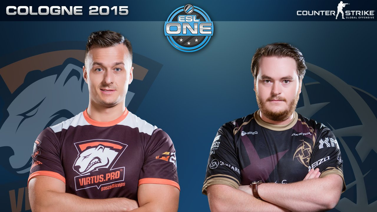 CS:GO - Virtus Pro vs  NiP [Inferno] - ESL One Cologne 2015 - Quarterfinal  Map 2