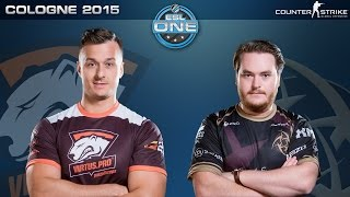 CS:GO - Virtus.Pro vs. NiP [Inferno] - ESL One Cologne 2015 - Quarterfinal Map 2