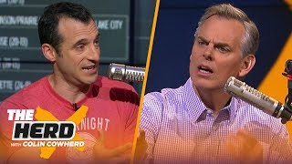 Doug Gottlieb picks his NCAA tournament winner, weighs in on Warriors playing without KD | THE HERD