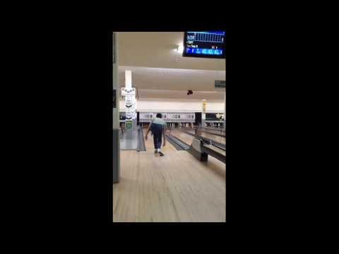 5 pins Bowling at Edmonton Canada