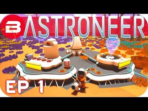 Get Astroneer Gameplay - SURVIVING IN SPACE #1 Let's Play Astroneer Images