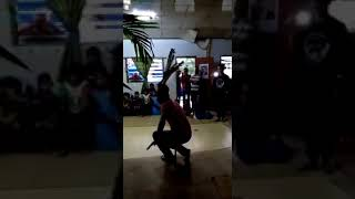Sarawak Pkr Mp Larry Sng Does The Iban Dance Ngajat