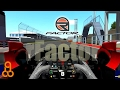 rFactor test recording with OBS Software