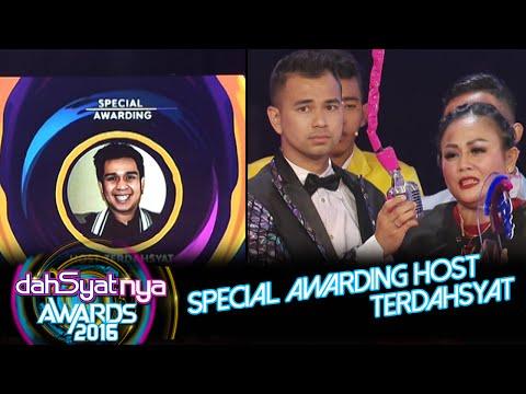 Special Awarding Host Terdahsyat 'Terima Kasih Olga Syahputra' [Dahsyat Awards 2016] [25 Jan 2016]