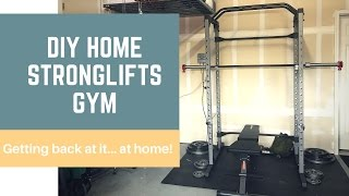 DIY Home STRONGLIFTS Gym!