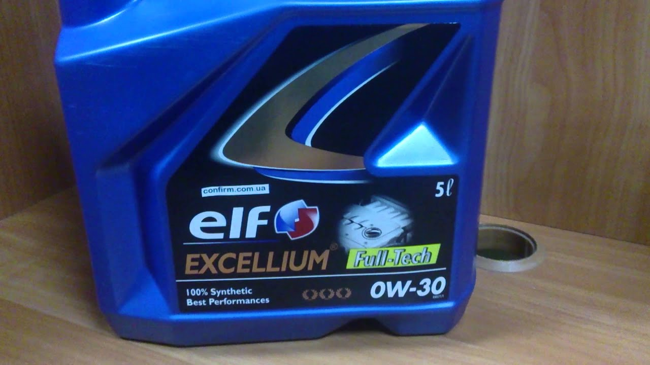 Моторное масло ELF TURBO DIESEL 10W-40. Обзор. - YouTube