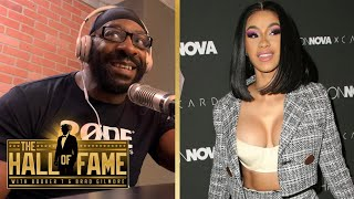 Booker T talks Cardi B being a WWE Fan and Being in Her Top 5